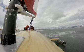 Żeglarstwo lodowe: Niesamowita prędkość!