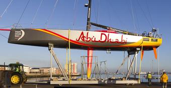 Volvo Ocean Race, finisz 2. etapu w Abu Dhabi. Team Brunel liderem